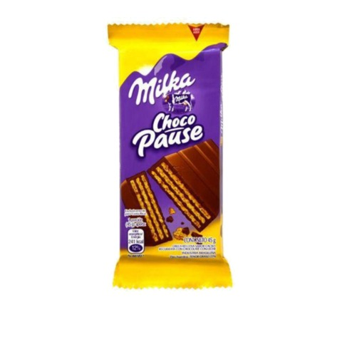 BISC  MILKA CHOCO PAUSE 45G
