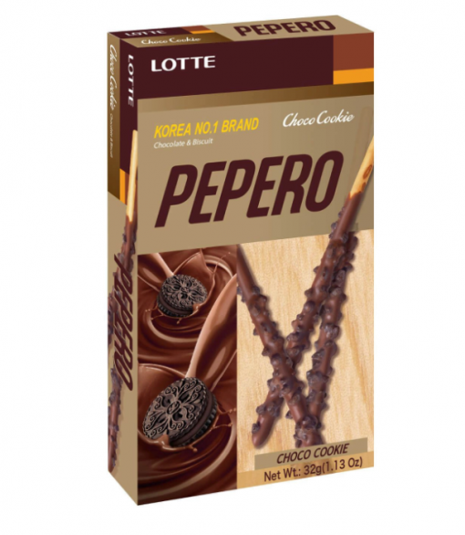 BISC  PEPERO CHOCO COOKIE 32G LOTTE