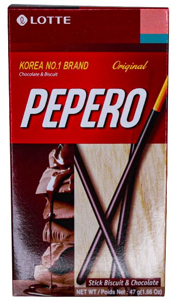 BISC  PEPERO TRAD  ORIG 47G LOTTE
