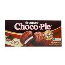 CHOCO PIE DOUBLE CHOCO 6PACKS - ORION