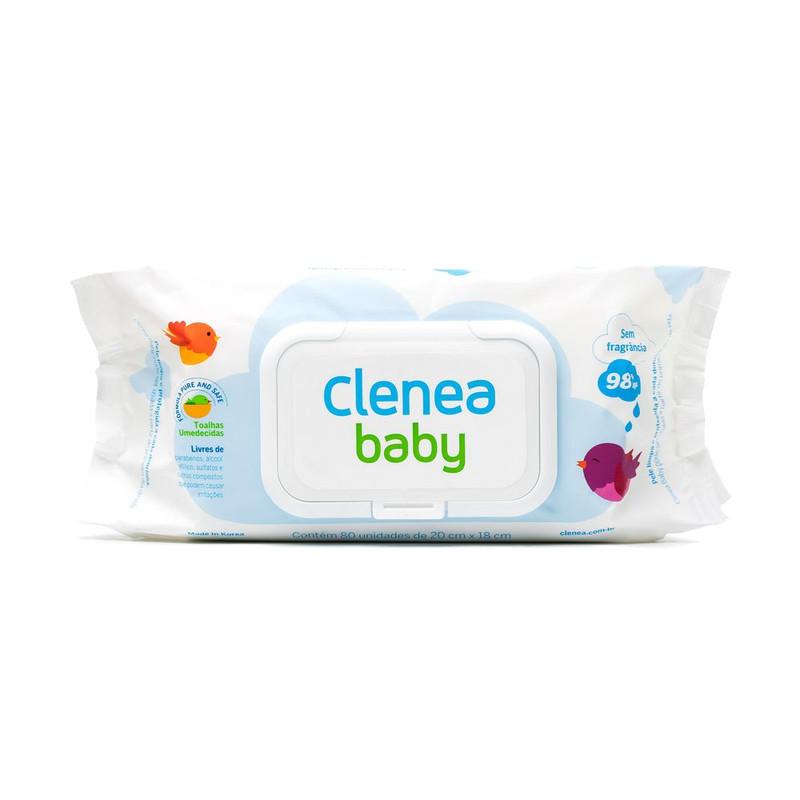 LENCO CLENEA BABY 80UN 20X18CM