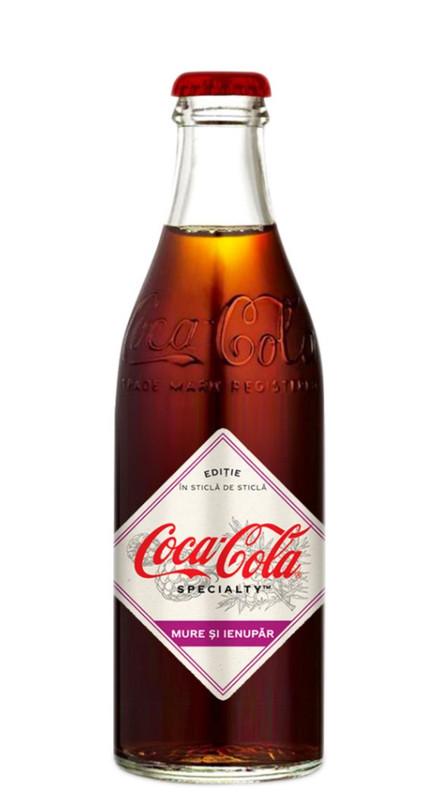 REFRIGERANTE COCA-COLA  SPECIALTY BLACKBERRIES JUNIPER 250ml