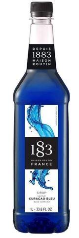 XAROPE 1883 BLUE CURACAO 1LT  PET FRANCE