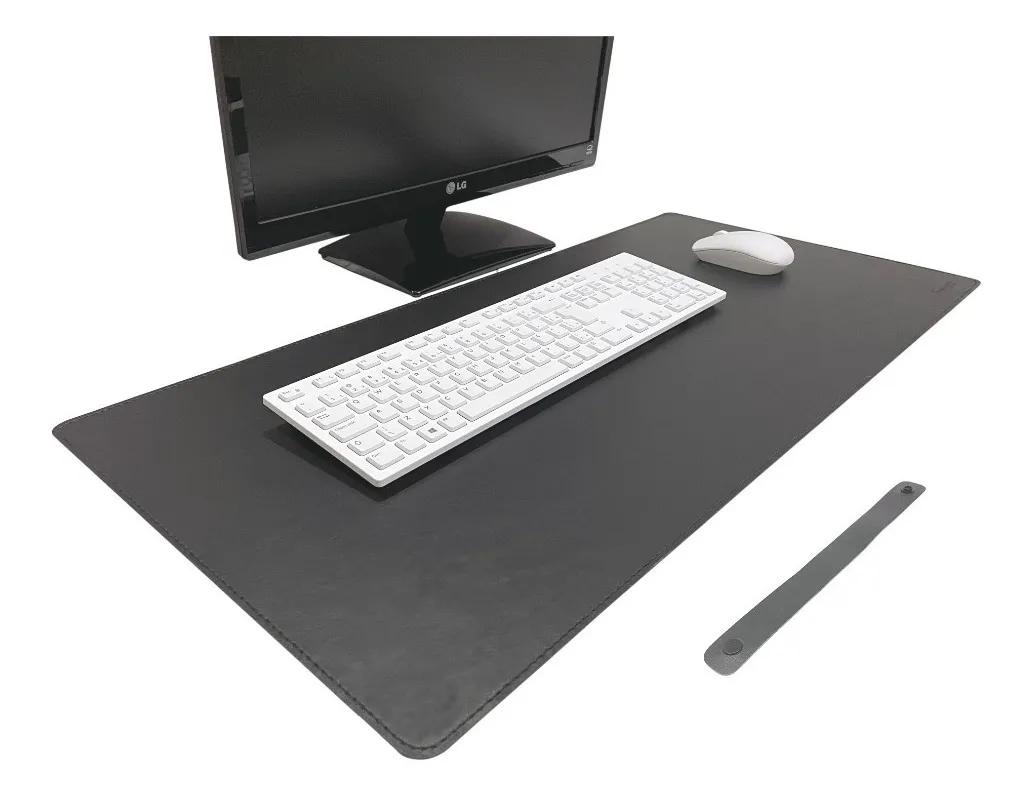 Desk Pad  em Couro Sintético (Ecológico)