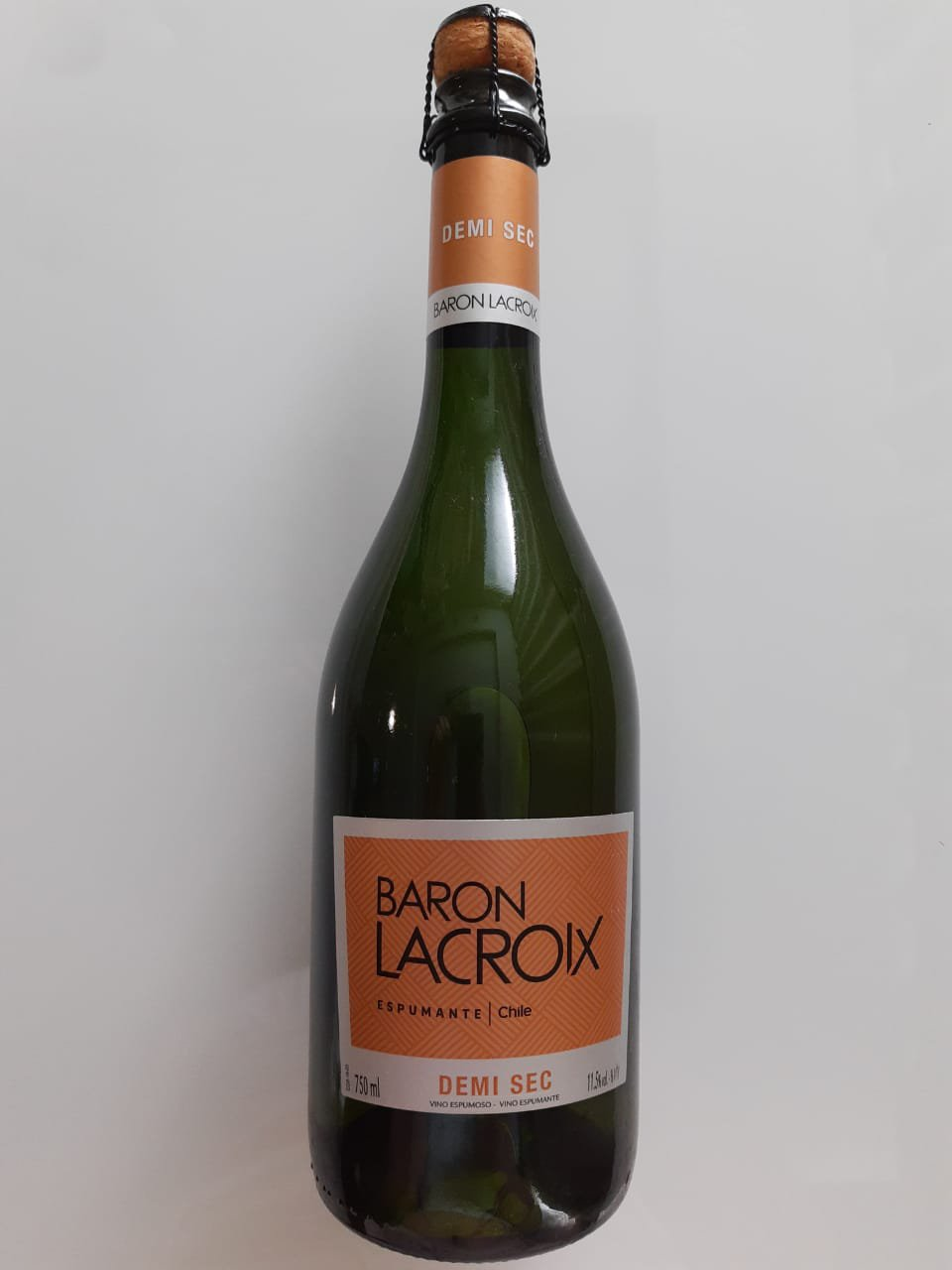 Vinho Baron Lacroix Demi Sec 750ml