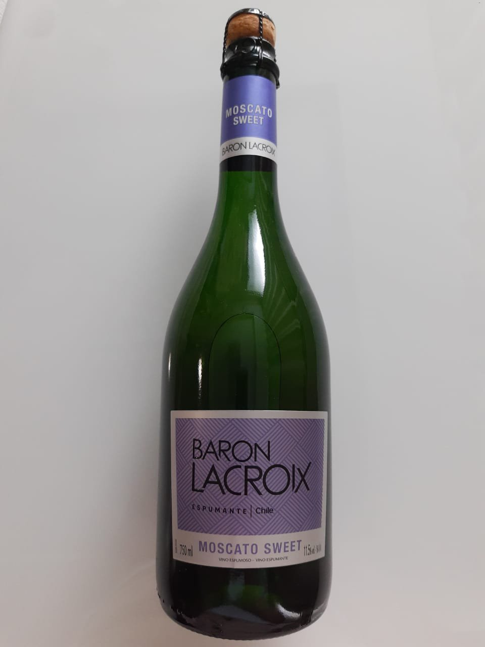 Vinho Baron Lacroix Moscato Sweet 750ml