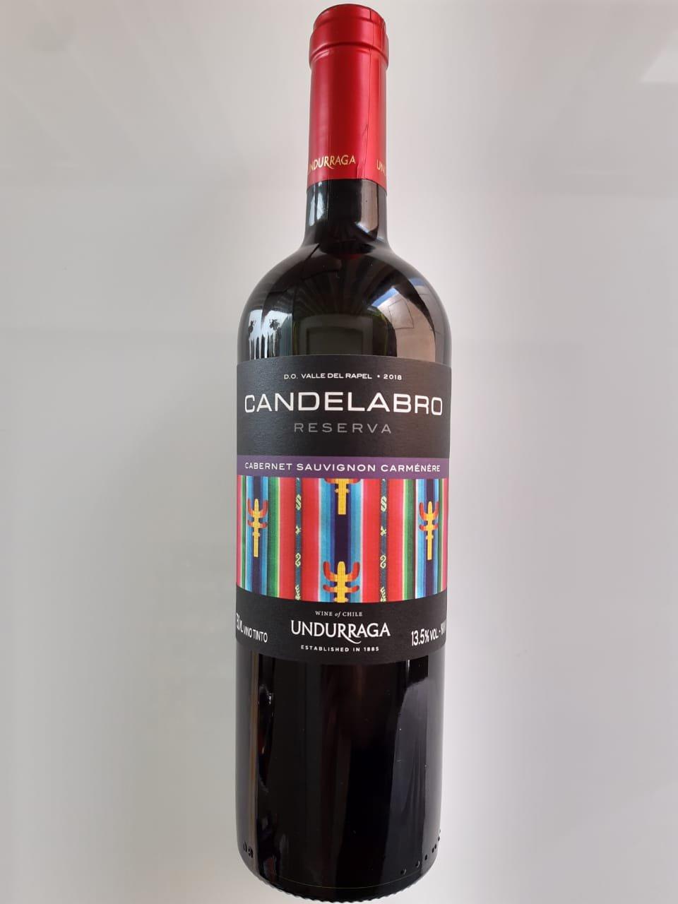 Vinho Candelabro Reserva Cabernet Sauvignon/Carménère 750ml
