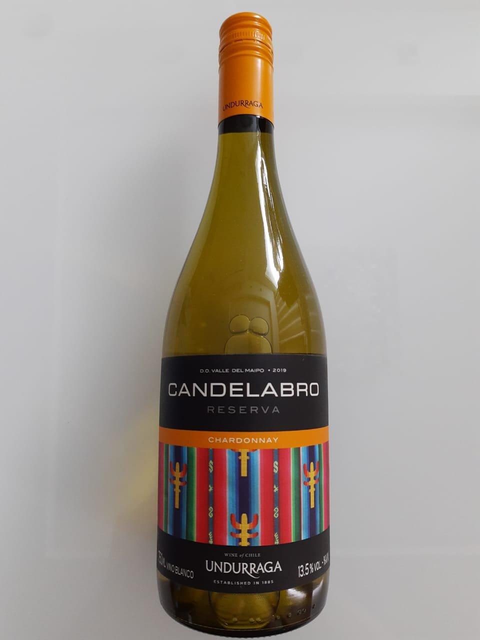 Vinho Candelabro Reserva Chardonnay 750ml