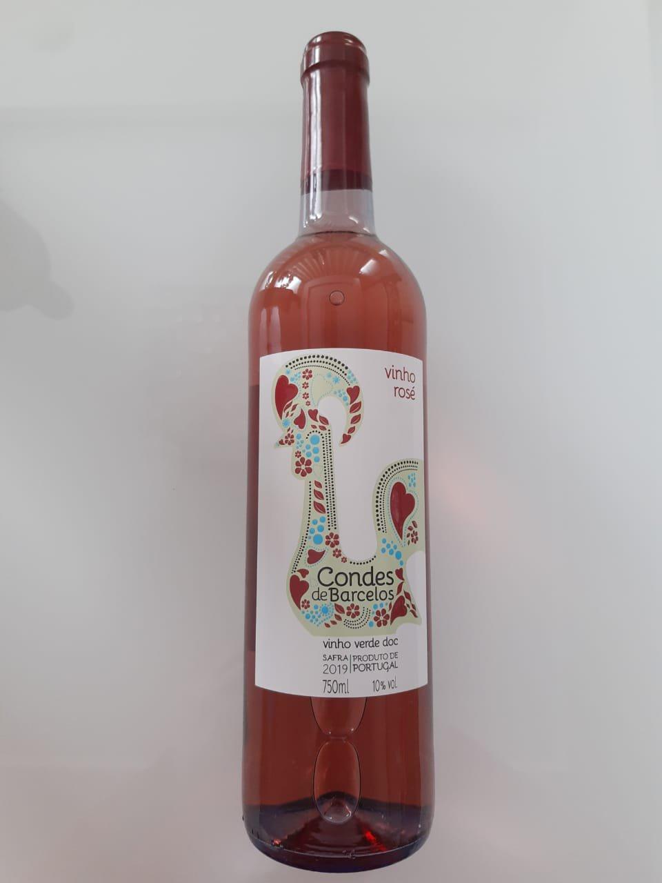Vinho Conde De Barcelos Vinho Verde Rosé 750ml