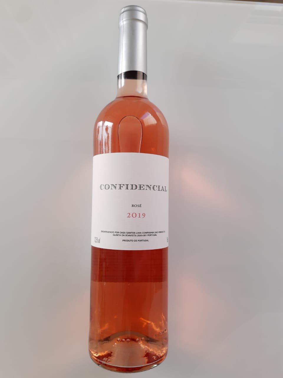 Vinho Confidencial Rosé 750ml