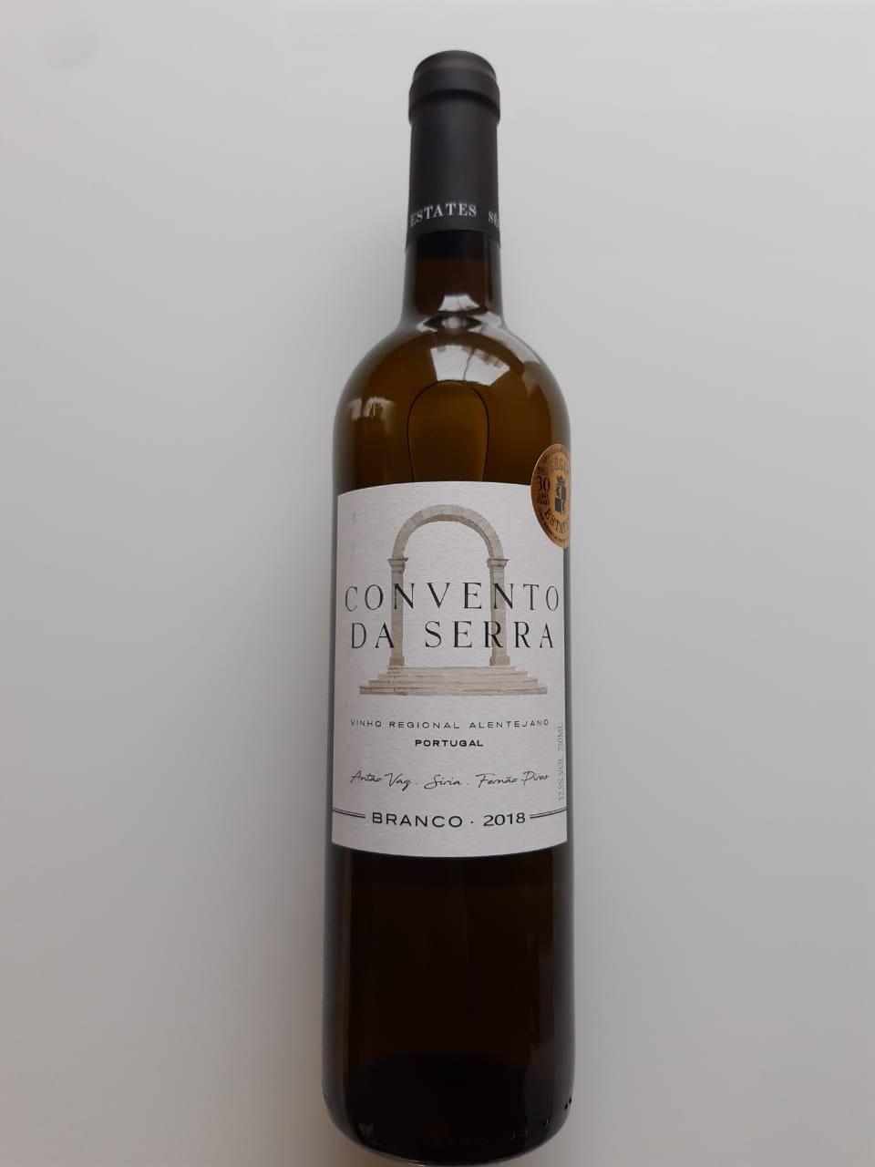 Vinho Convento Da Serra Branco 750ml