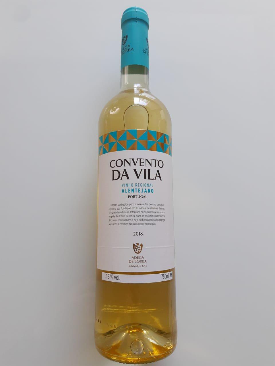 Vinho Convento Da Vila Branco 750ml