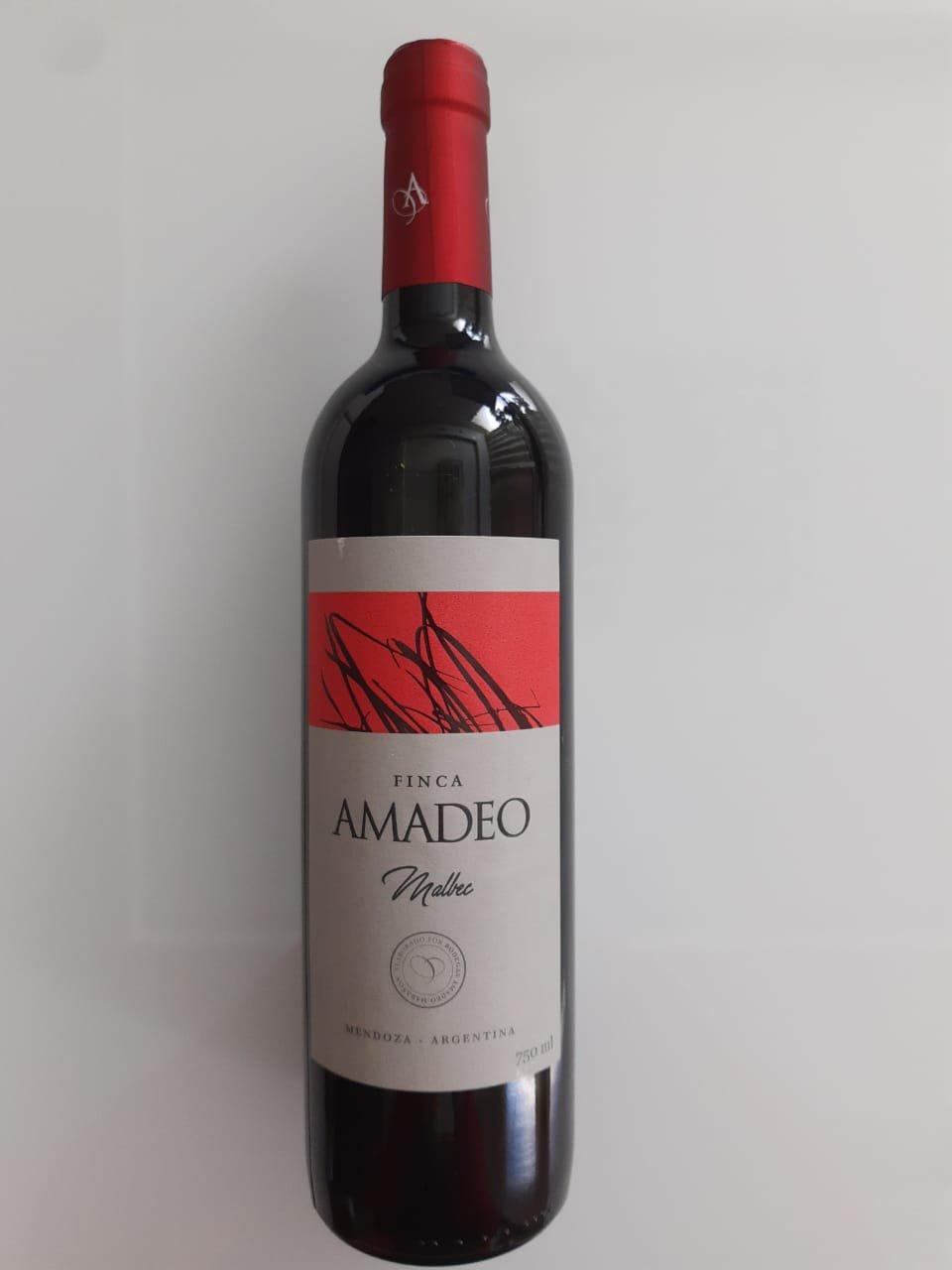 Vinho Finca Amadeo Malbec 750ml