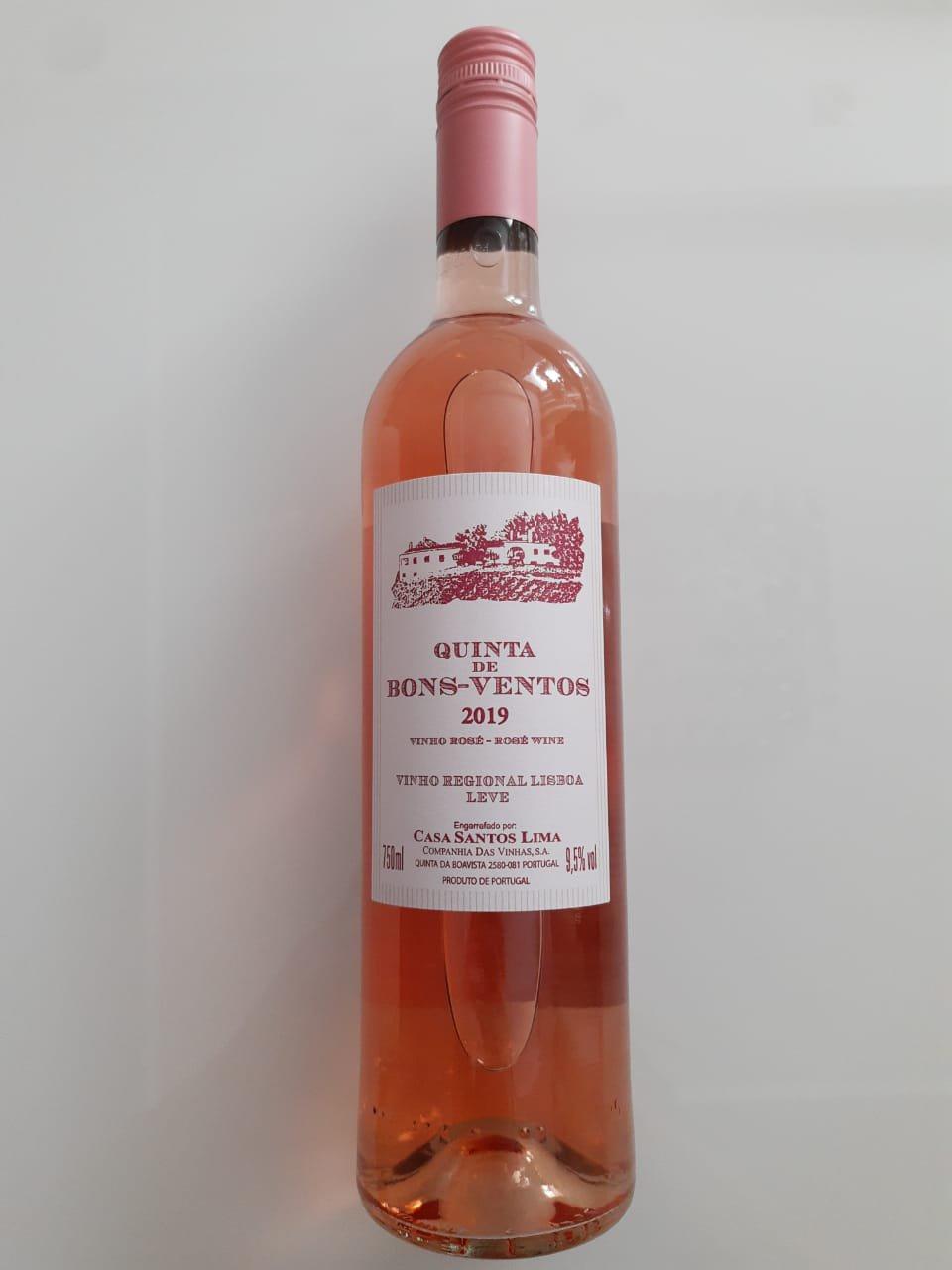 Vinho Quinta De Bons Ventos Rosé 750ml