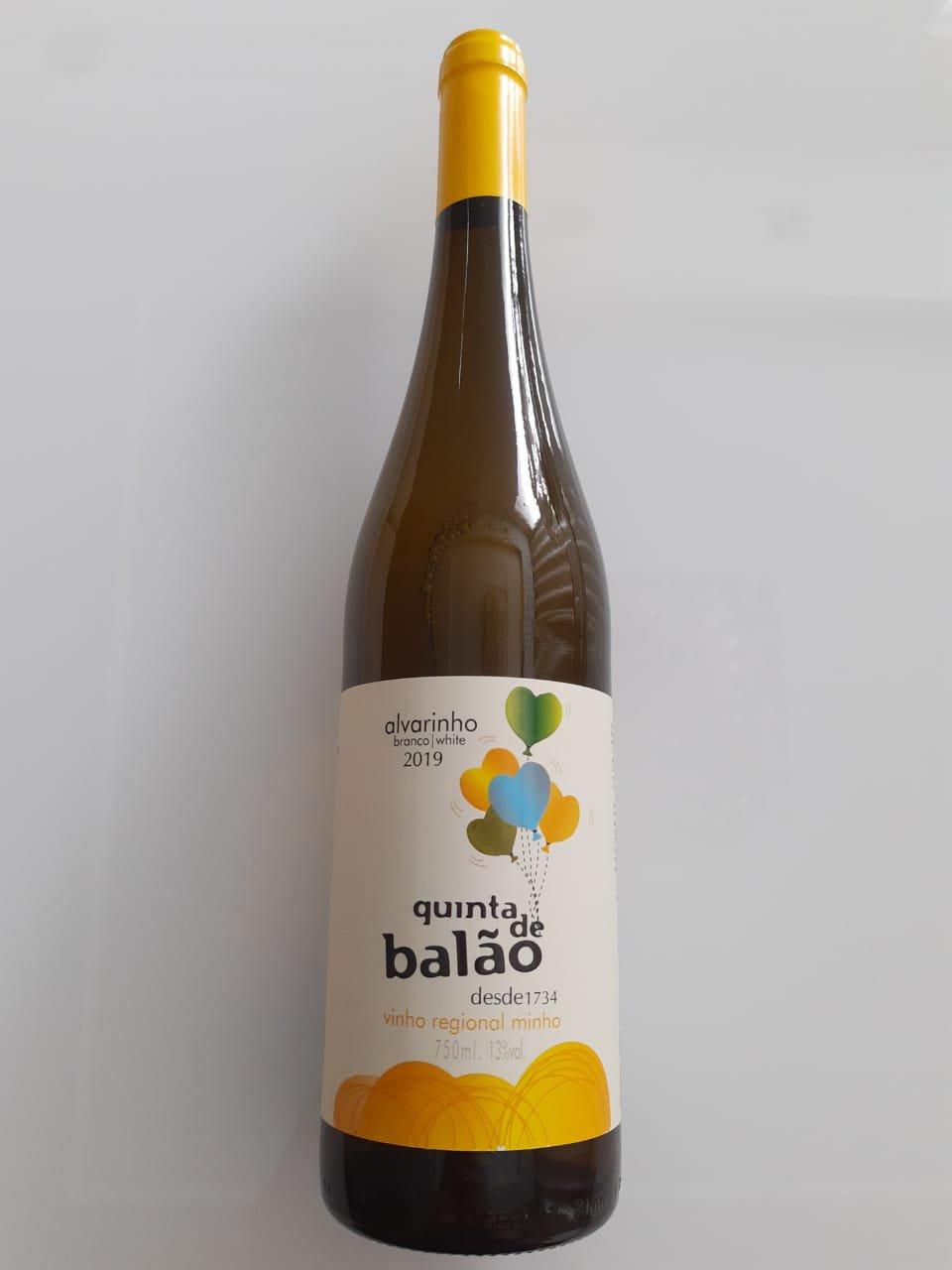 Vinho Quinta Do Balão Alvarinho 750ml