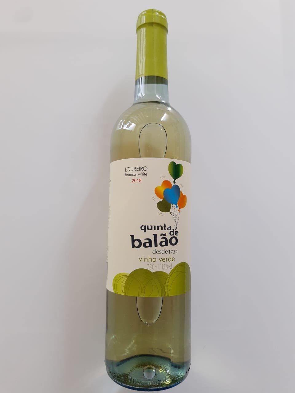 Vinho Quinta Do Balão Verde Loureiro 750ml
