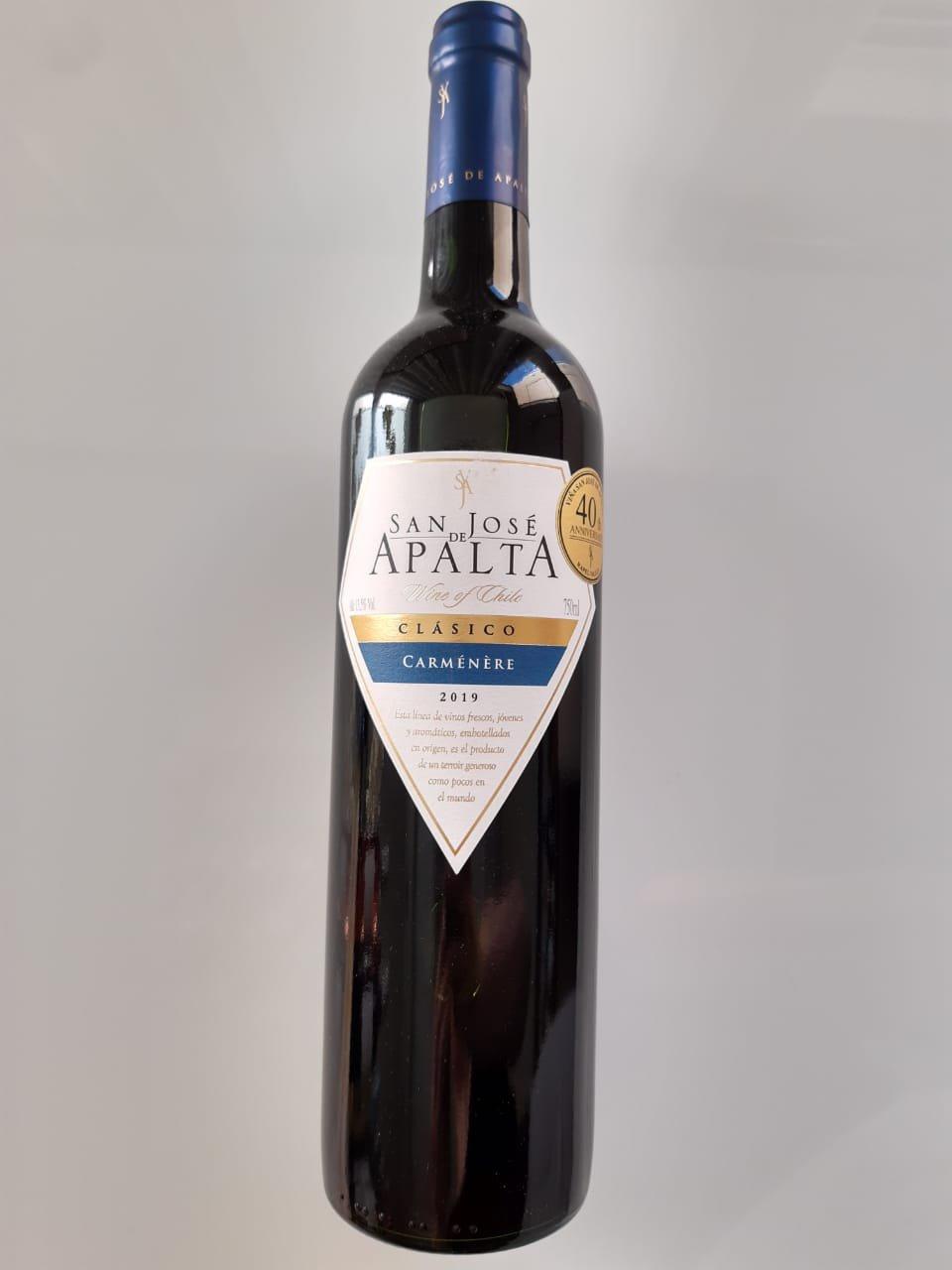 Vinho San José De Apalta Clássico Carménère 750ml