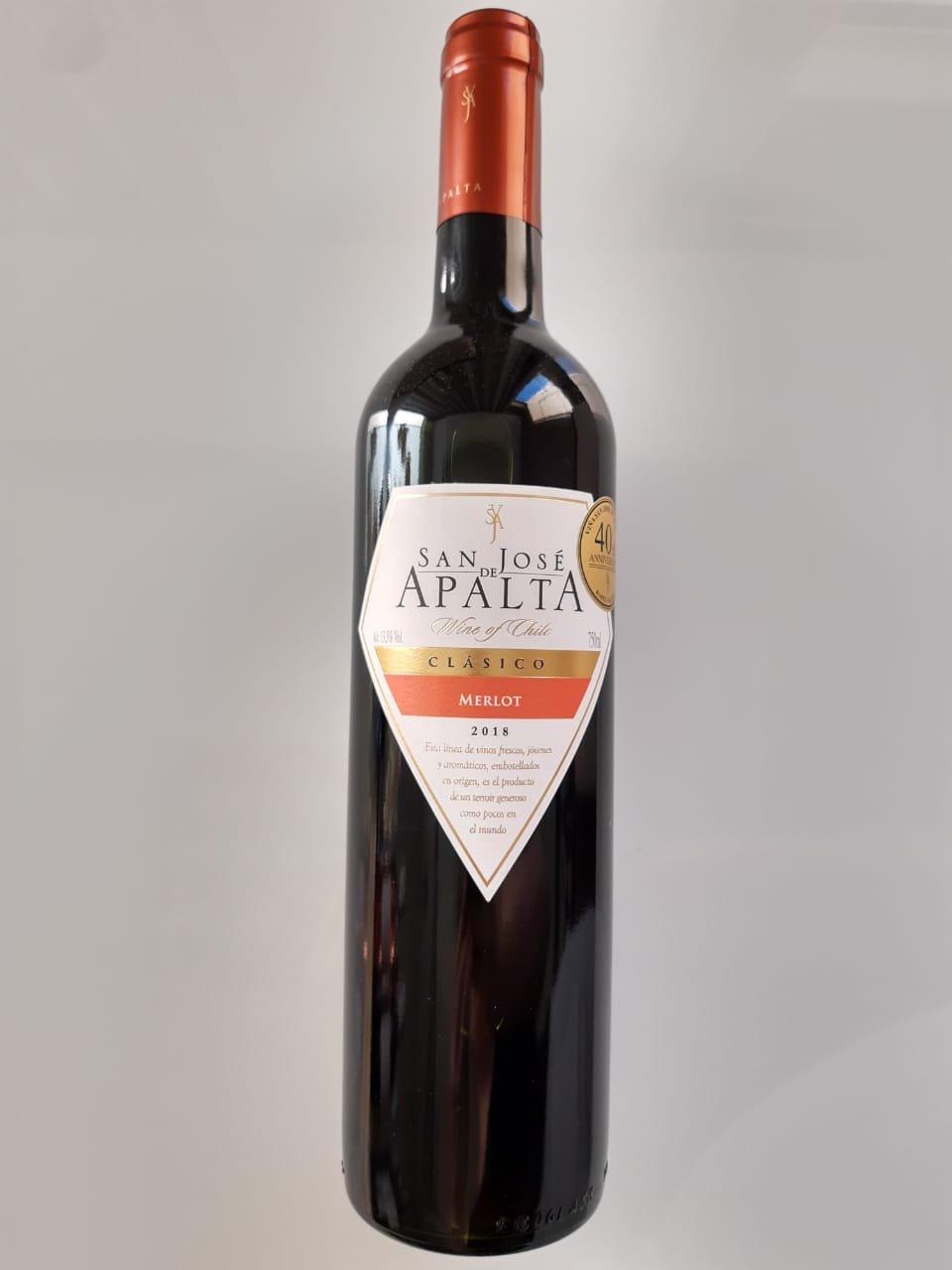 Vinho San José De Apalta Clássico Merlot 750ml