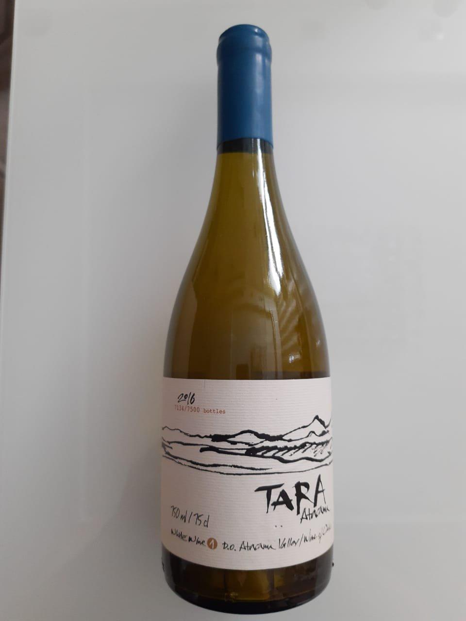 Vinho Tara Atacama Ventisquero Chardonnay 750ml