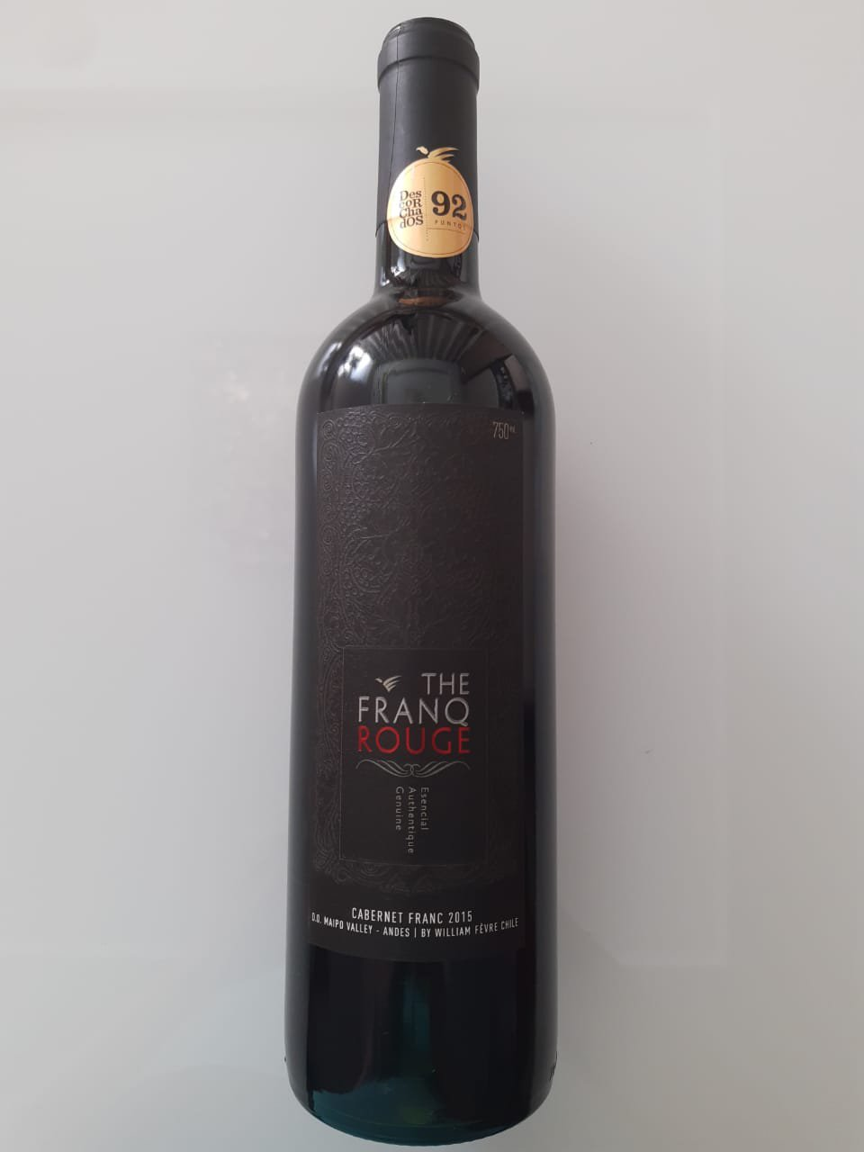 Vinho The Franq Rouge Cabernet Franc 750ml