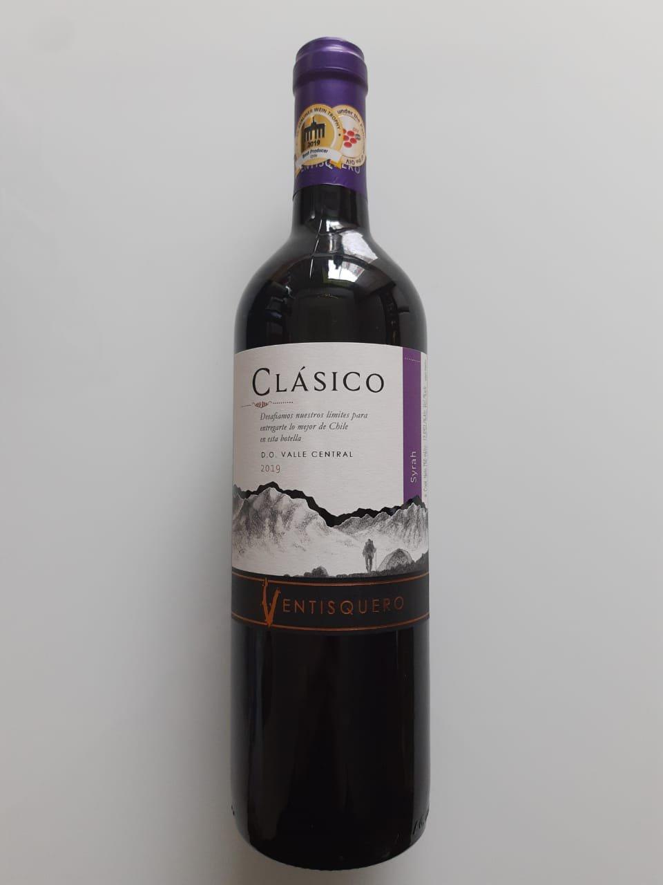 Vinho Ventisquero Clásico Syrah 750ml