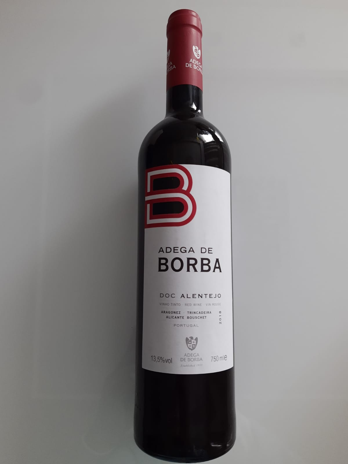 Vinho Adega De Borba D.O.C Tinto 750ml