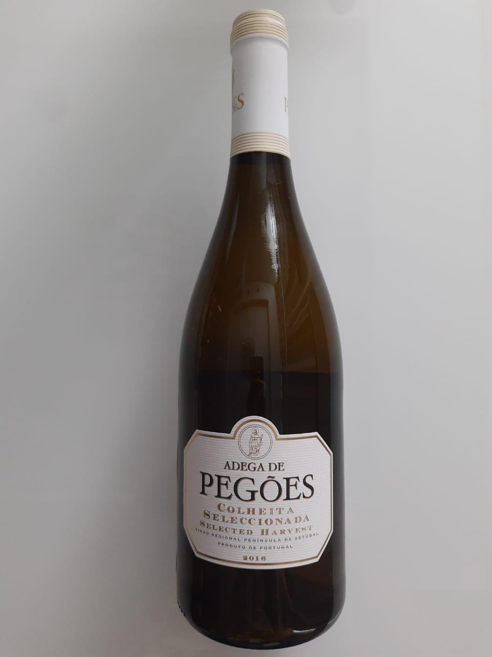 Vinho Adega De Pegões Colheita Seleccionada Branco 750ml