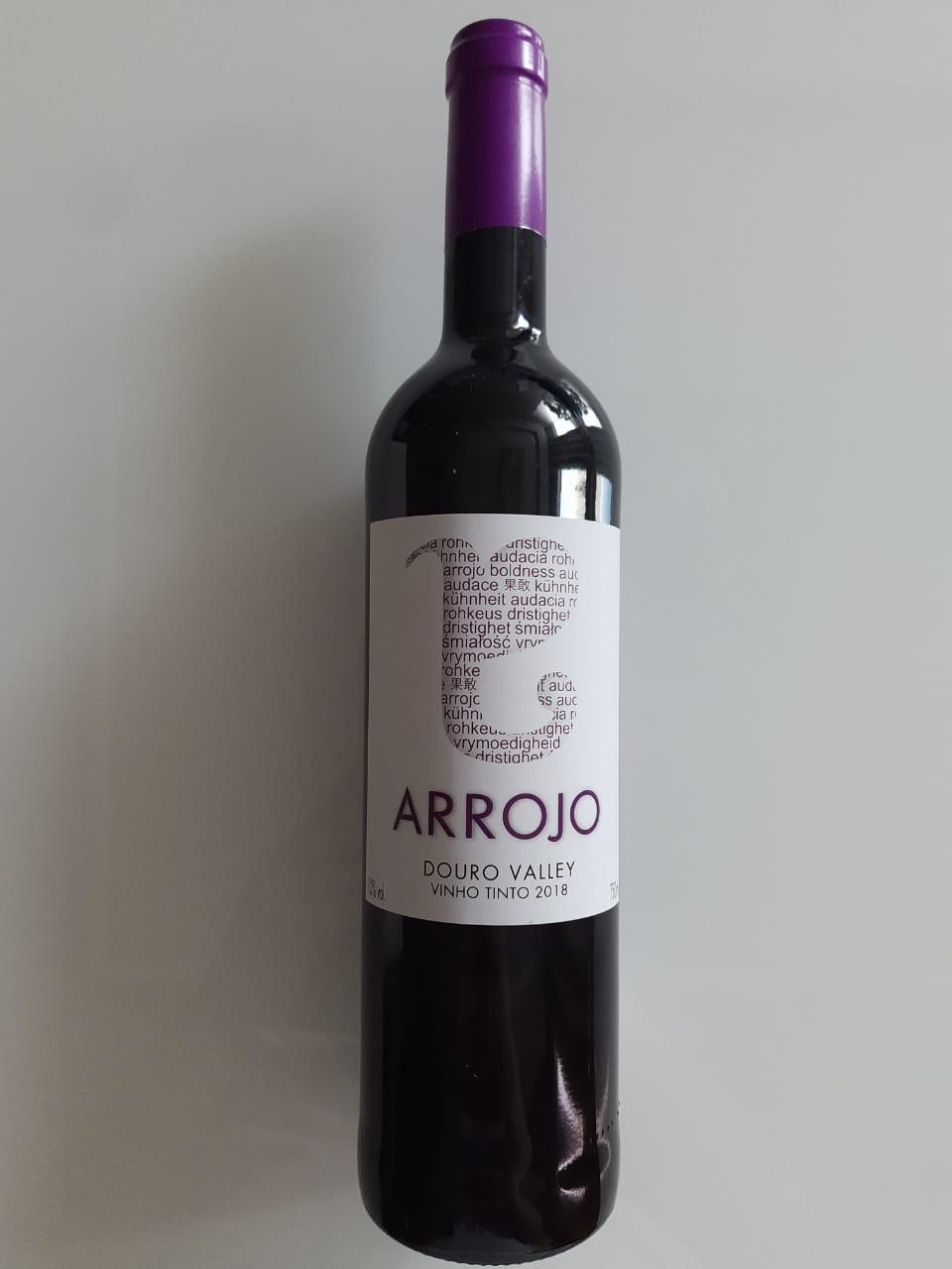 Vinho Arrojo Tinto 750ml