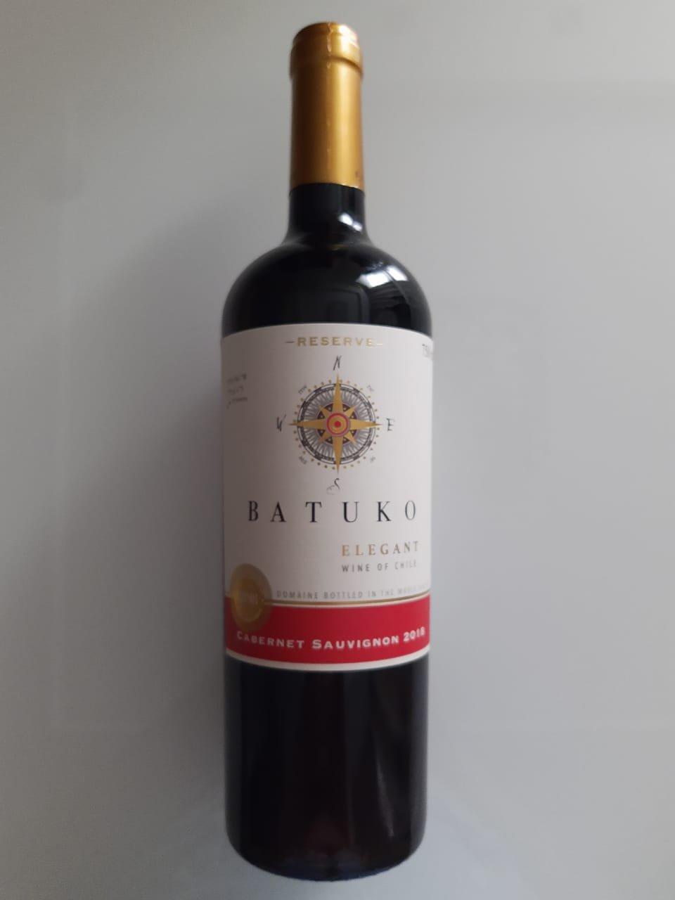 Vinho Batuko Elegant Reserve Cabernet Sauvignon 750ml
