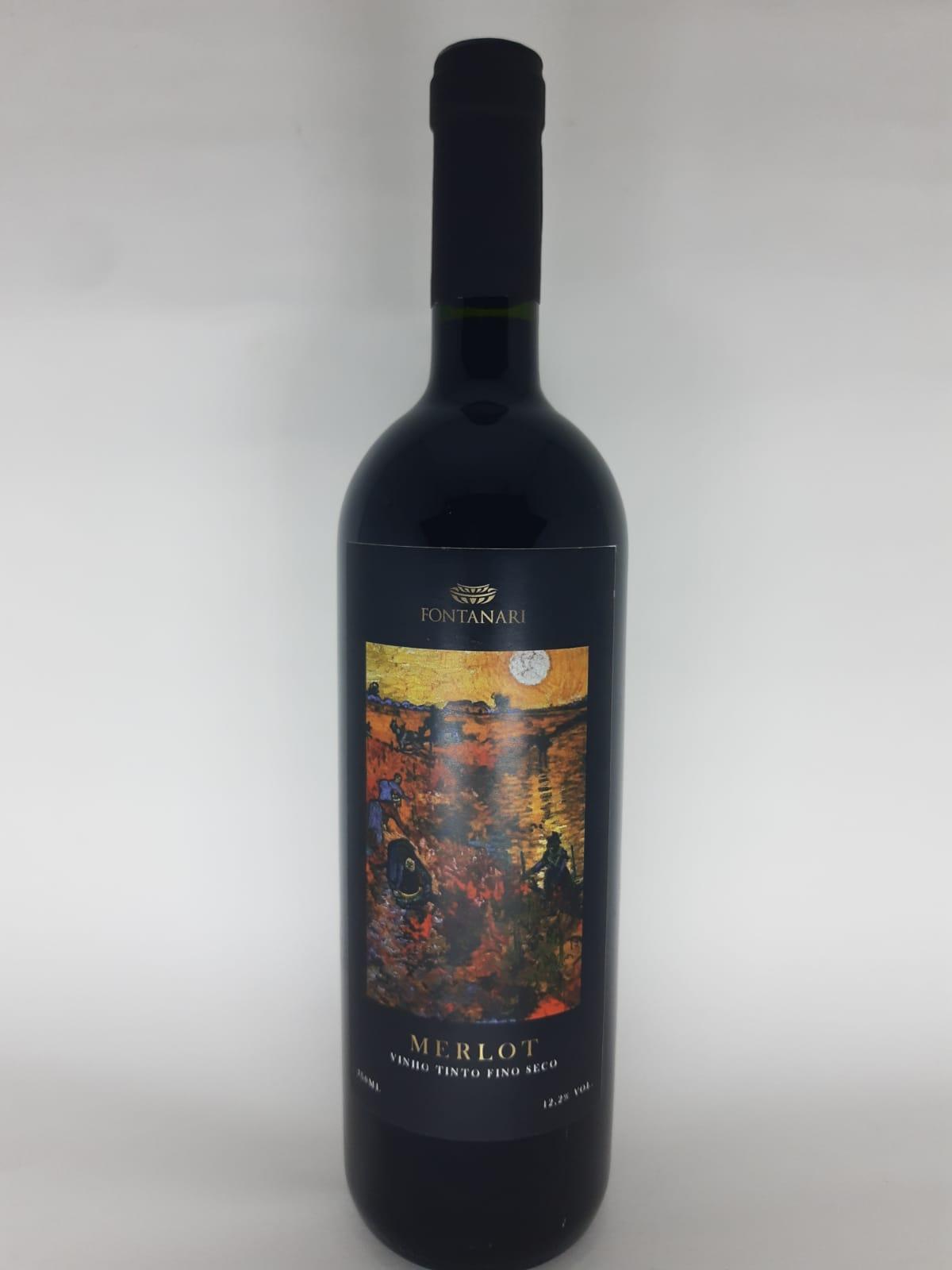 Vinho Casa Fontanari Merlot 750ml
