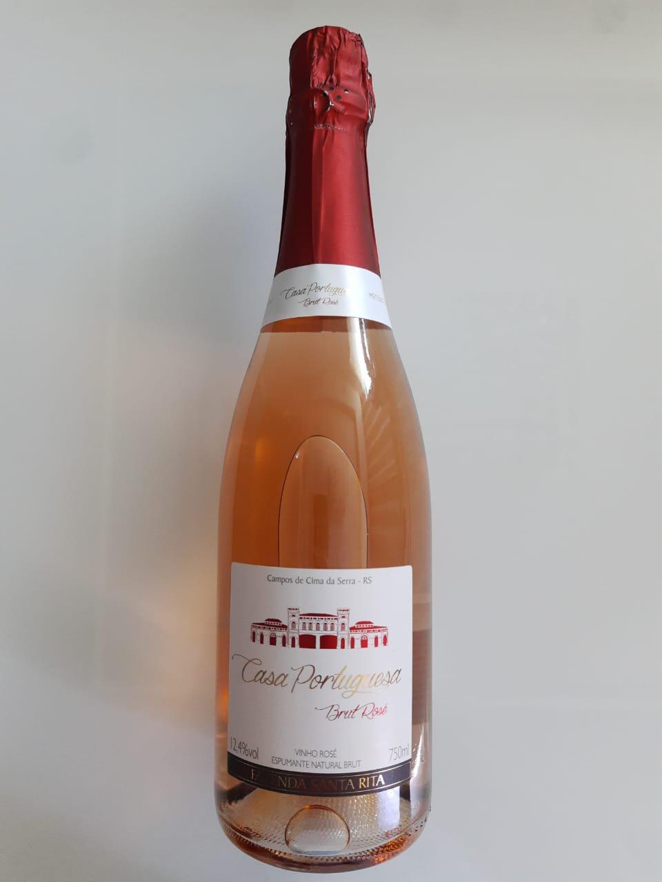 Vinho Casa Portuguesa Brut Rosé 750ml
