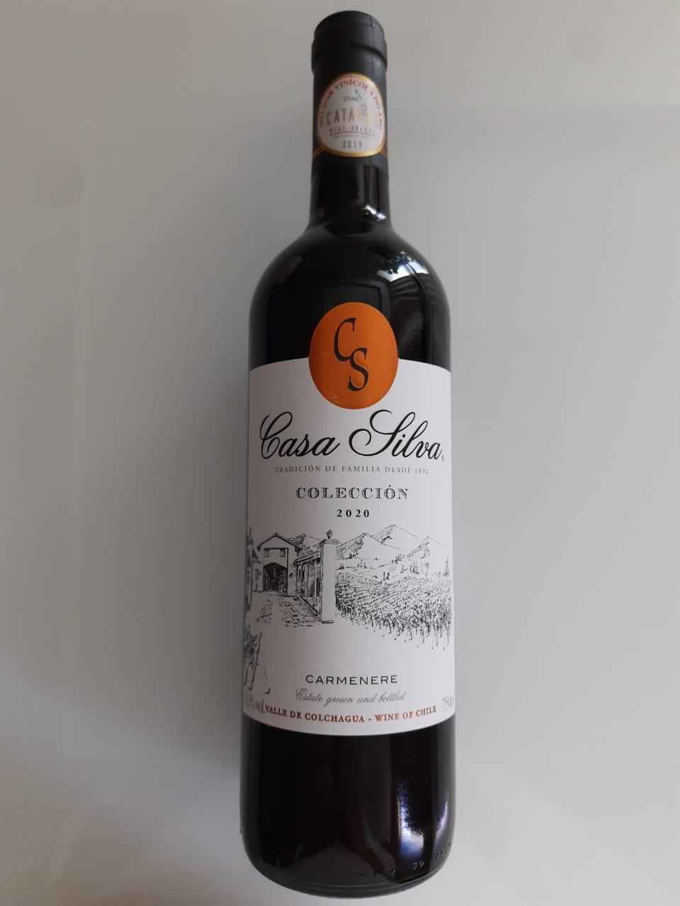 Vinho Casa Silva Coleccion Carménère 750ml