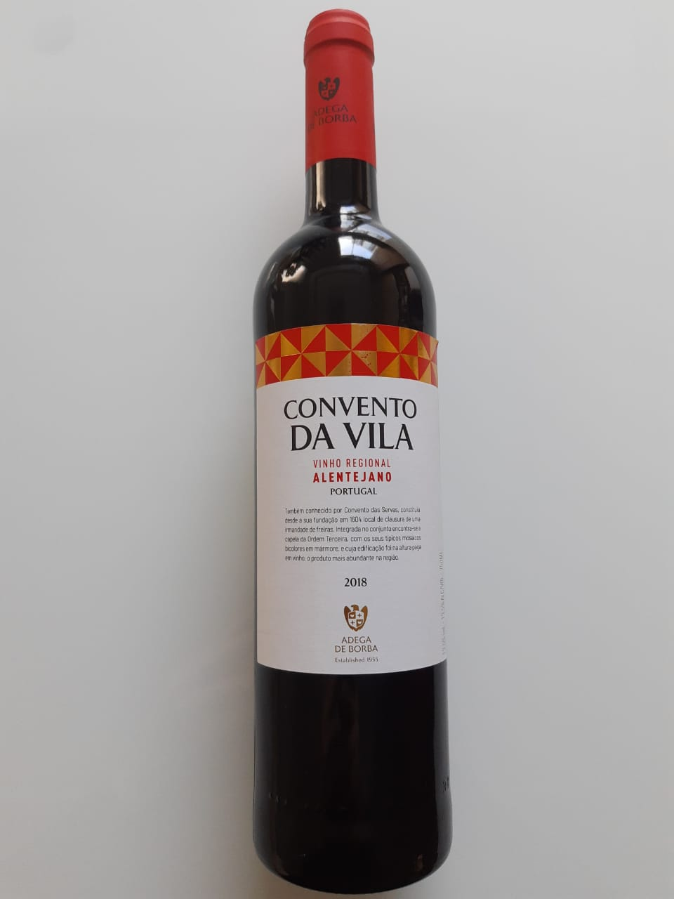 Vinho Convento Da Vila Tinto 750ml