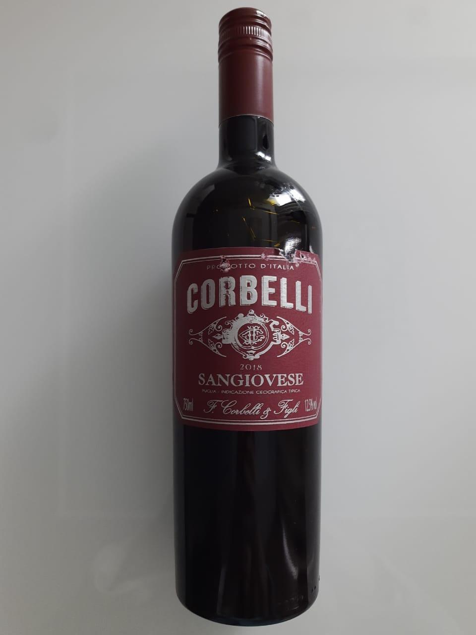 Vinho Corbelli Sangiovese 750ml