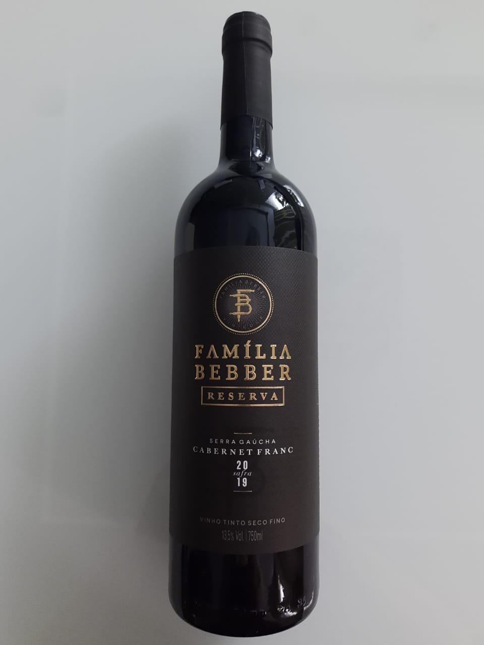 Vinho Família Bebber Reserva Cabernet Franc 750ml