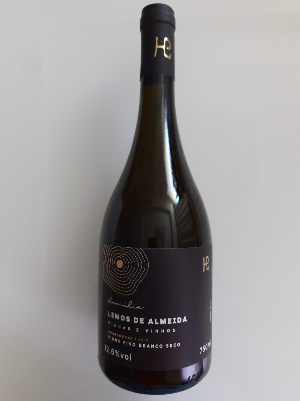 Vinho Família Lemos De Almeida Chardonnay 750ml