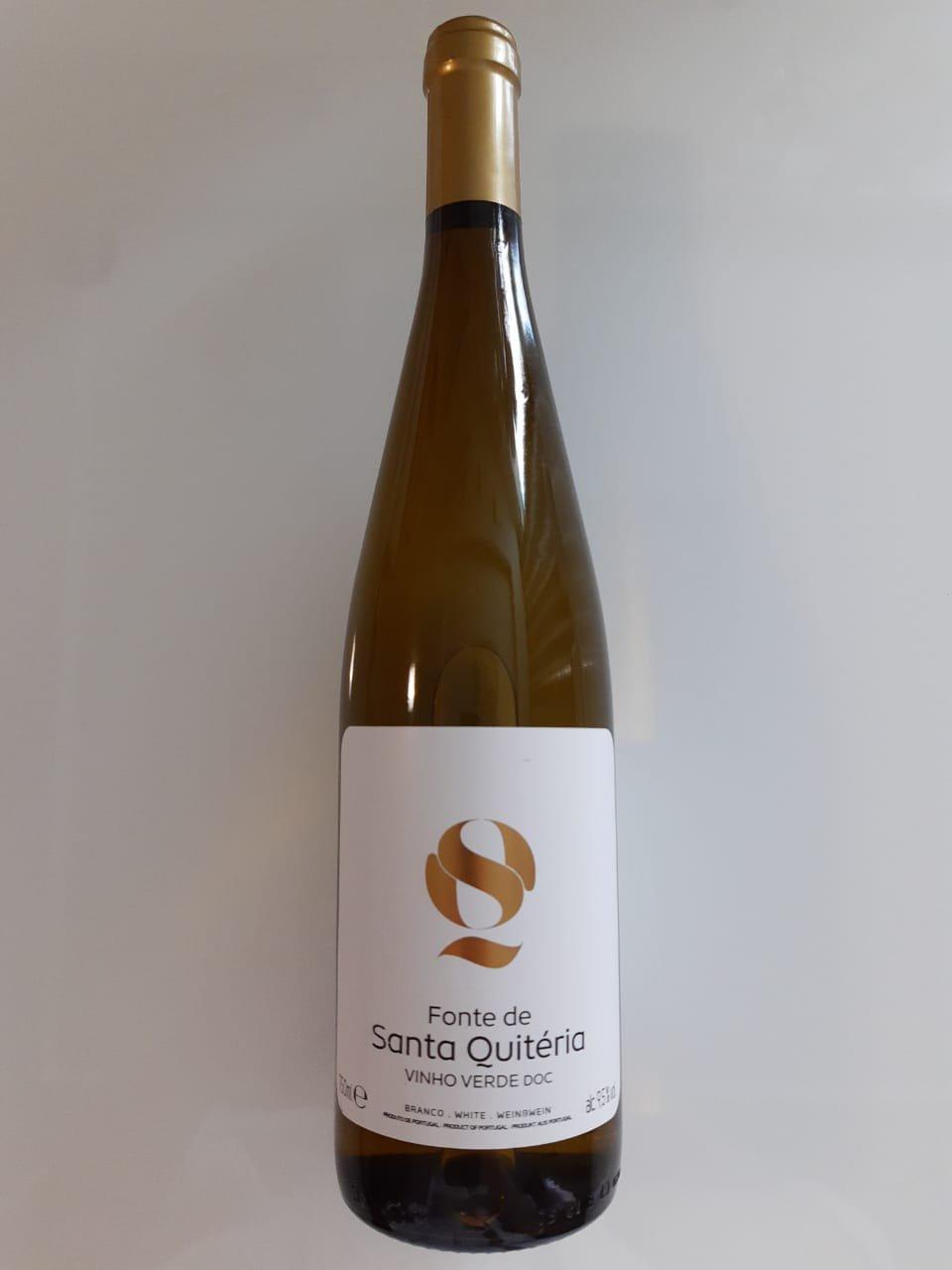 Vinho Fonte De Santa Quitéria Vinho Verde 750ml
