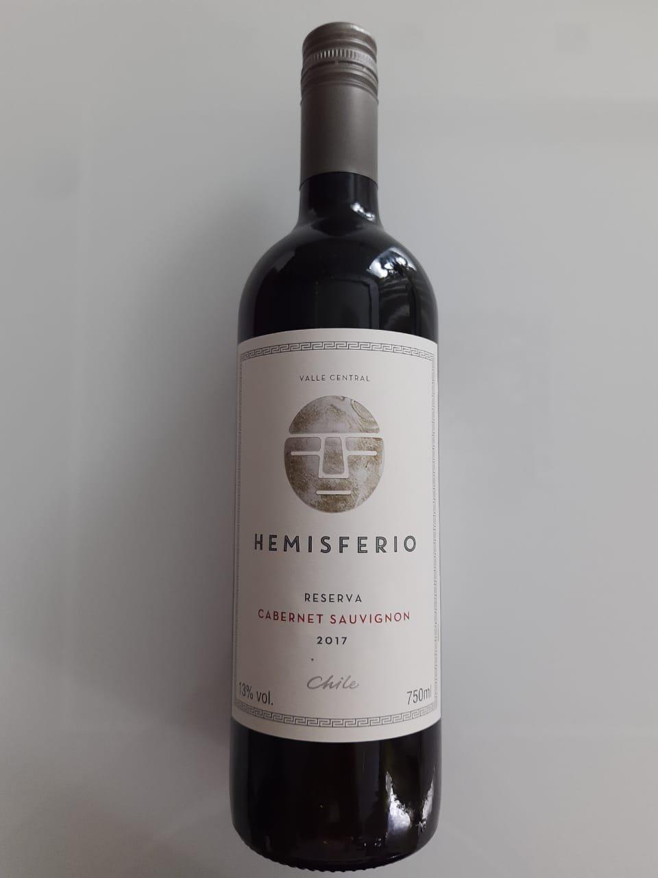 Vinho Hemisferio Reserva Cabernet Sauvignon 750ml