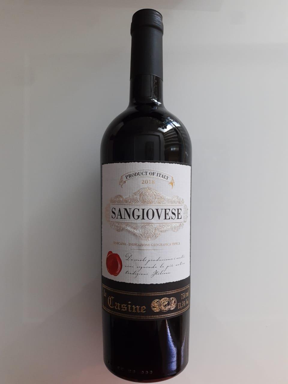 Vinho Le Casine Sangiovese 750ml