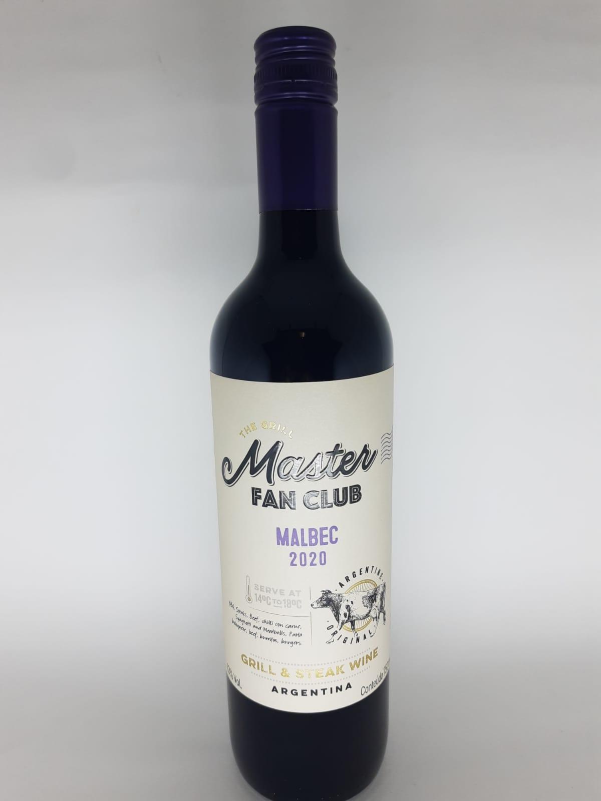 Vinho Master Fan Club Malbec 750ml