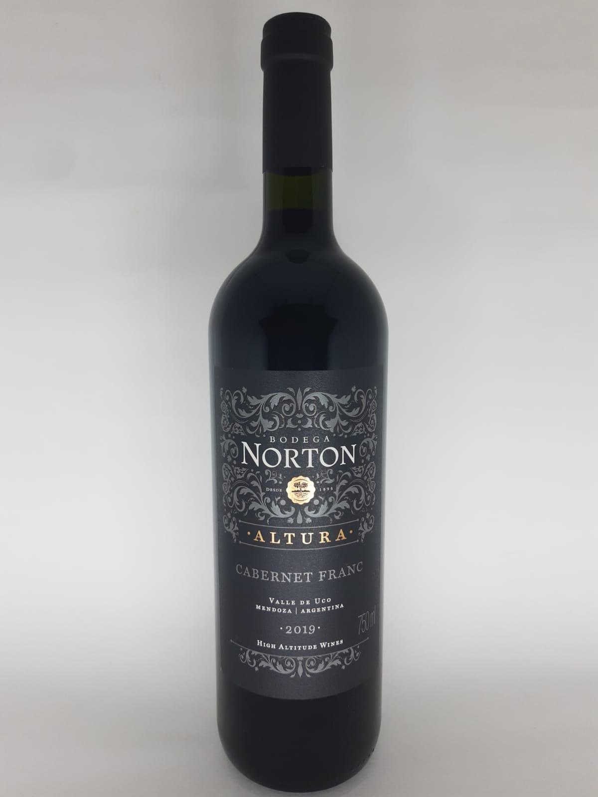 Vinho Norton Altura Cabernet Franc 750ml