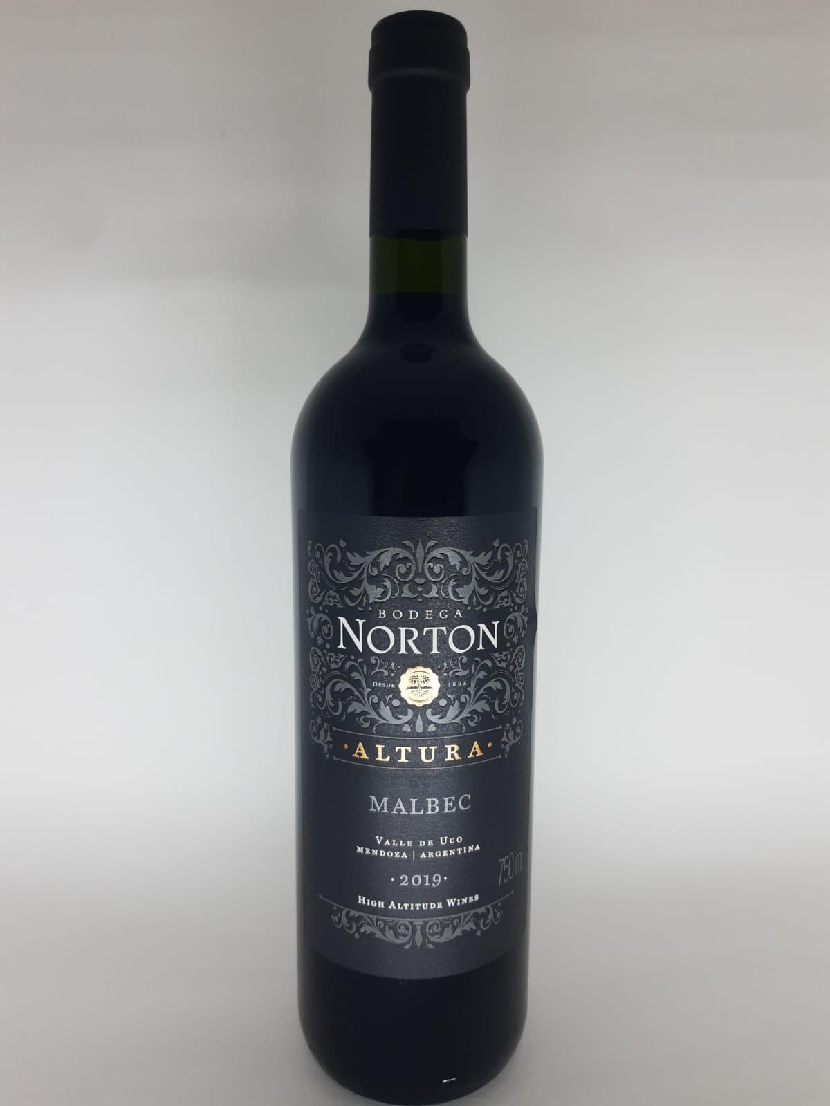 Vinho Norton Altura Malbec 750ml