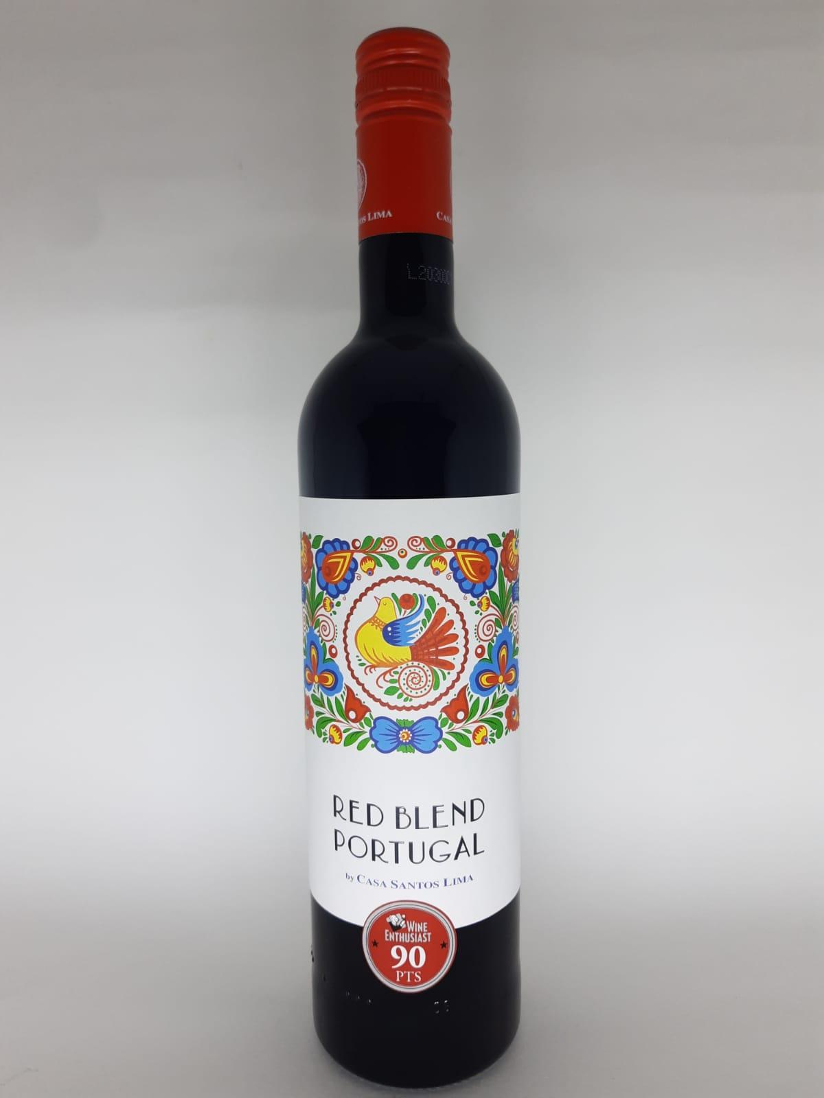 Vinho Red Blend Portugal 750ml