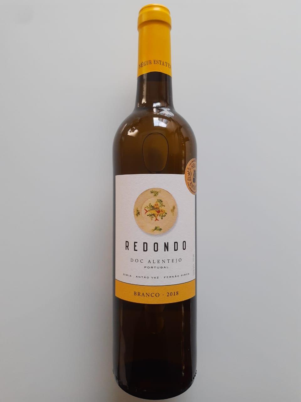 Vinho Redondo Branco 750ml