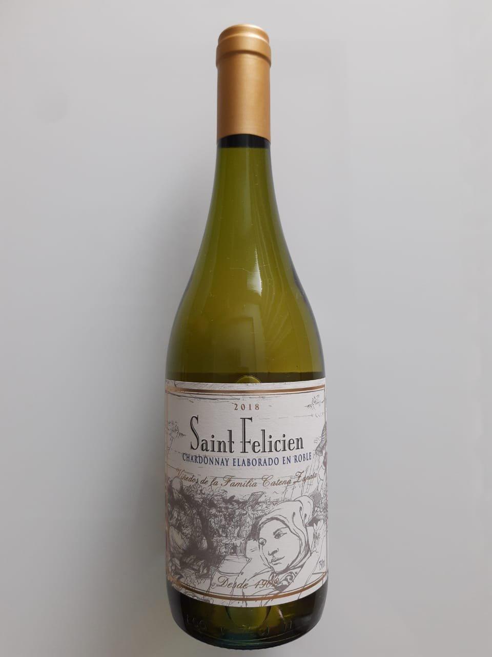 Vinho Saint Felicien Chardonnay 750ml