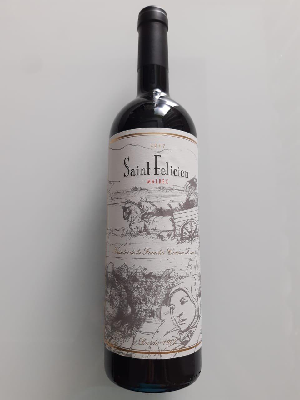 Vinho Saint Felicien Malbec 750ml