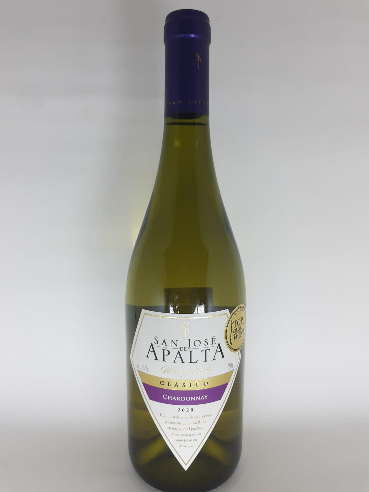Vinho San José De Apalta Clássico Chardonnay 750ml