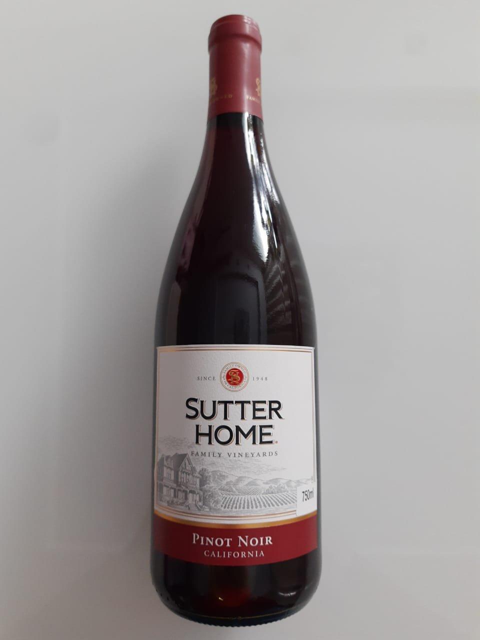 Vinho Sutter Home Family Vineyards Pinot Noir 750ml