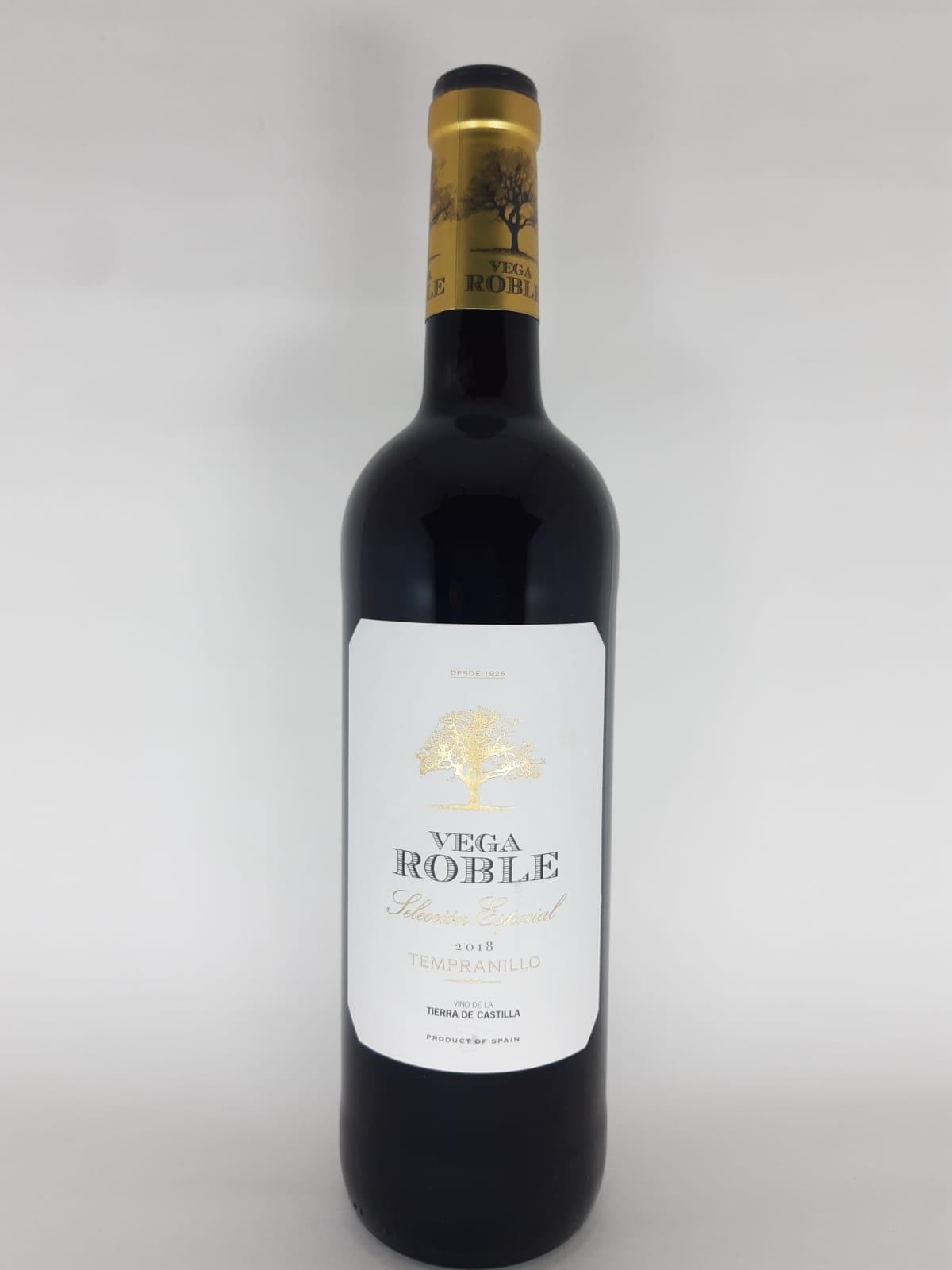 Vinho Vega Roble Seleccion Especial 750ml
