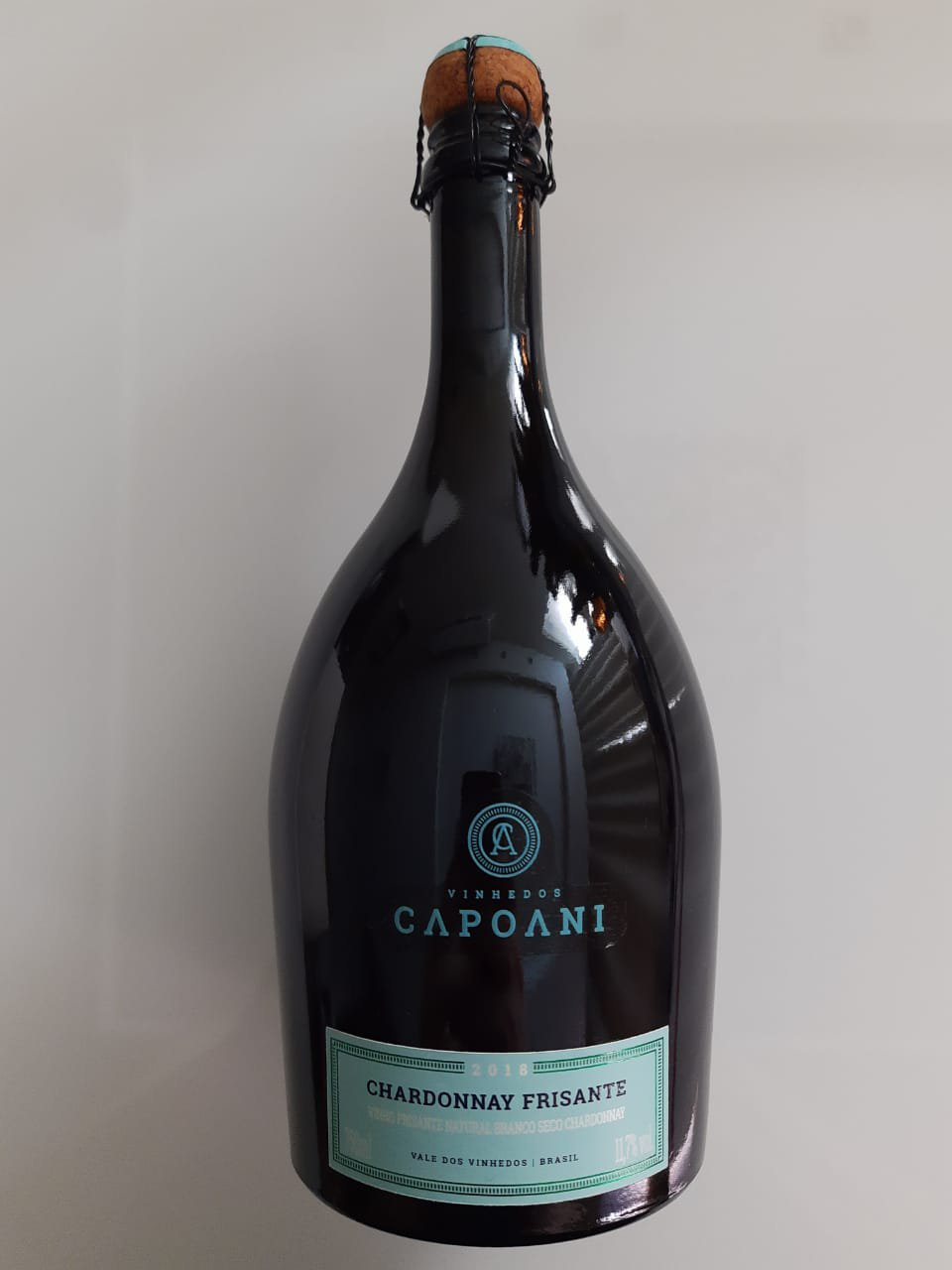 Vinho Vinhedos Capoani Chardonnay Frisante 750ml